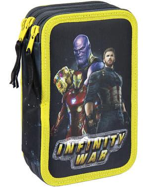Astuccio con 3 cerniere The Avengers - Marvel