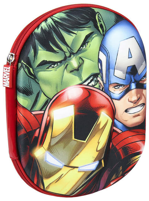 Estuche 3D Los Vengadores – Marvel
