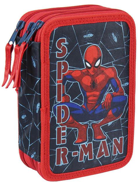 Piórnik Spiderman dla chłopców 3 przegródki - Marvel