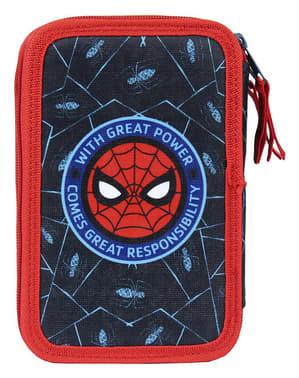 Калъф за молив от Спайдърмен с 3 ципа за момчета - Marvel