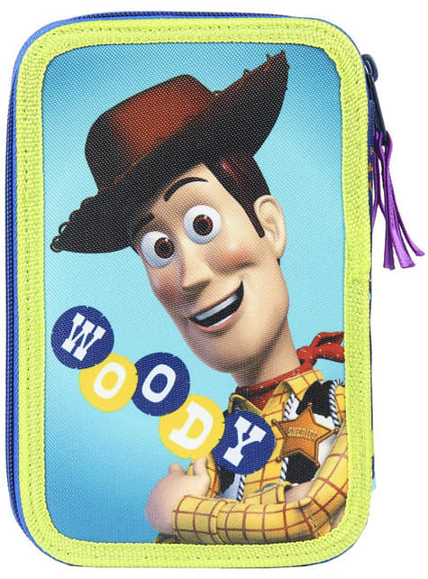 Astuccio con 3 cerniere di Toy Story per bambino - Disney