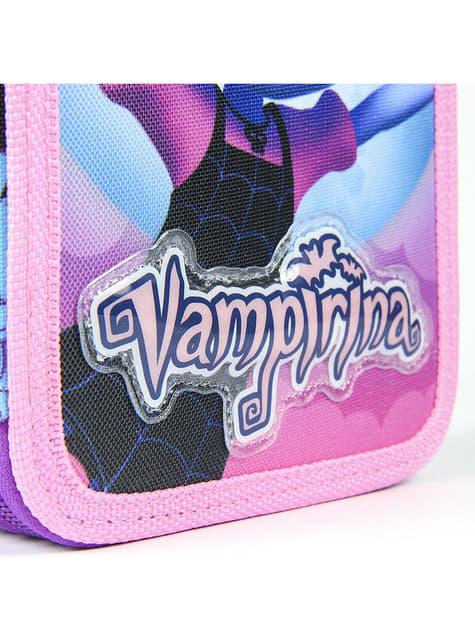 Astuccio con 3 cerniere di Vampirina per bambina