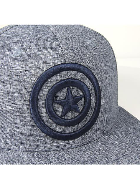 Captain America Wappen Kappe für Jungen - The Avengers