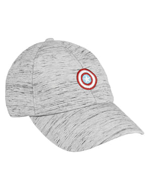 Captain America shield cap in grey for kids - The Avengers