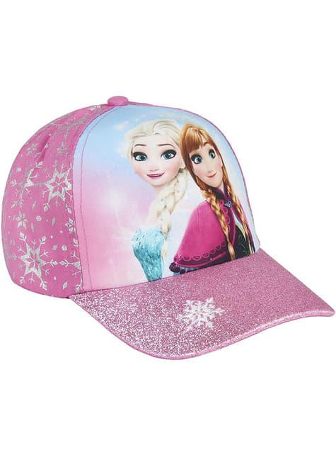 Casquette La Reine des neiges Anna et Elsa fille