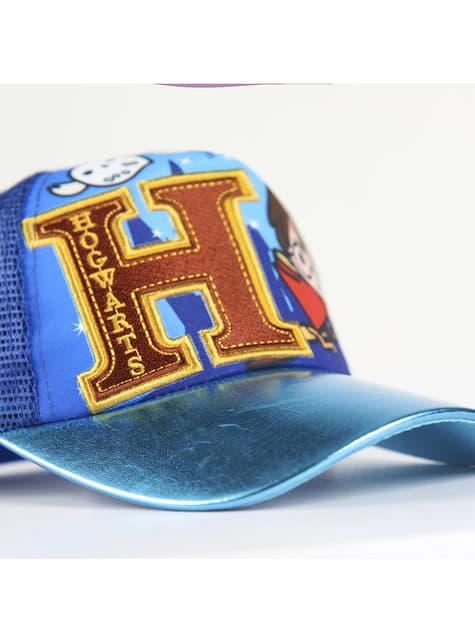 Blauwe Harry Potter pet voor kinderen