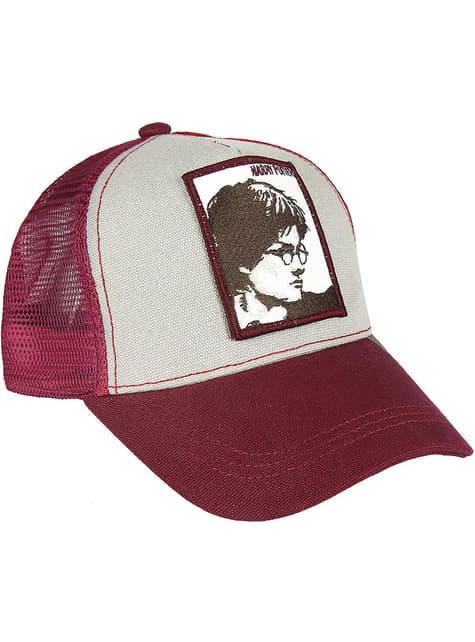 Harry Potter Kappe rot und weiß für Erwachsene