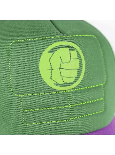 Gorra Hulk puño para adulto - Los Vengadores - barato