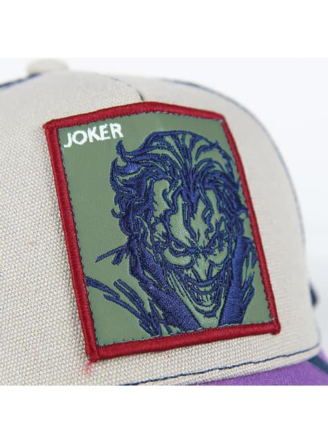 Boné de Joker roxo para adulto - DC Comics