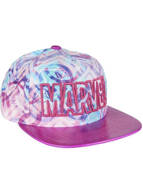Marvel cap in pink for women