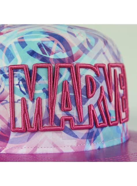 Gorra Marvel rosa para mujer - comprar