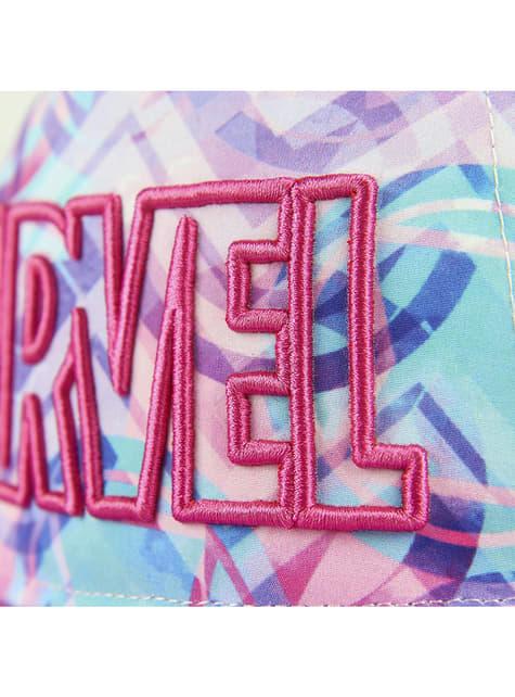 Gorra Marvel rosa para mujer - el más divertido