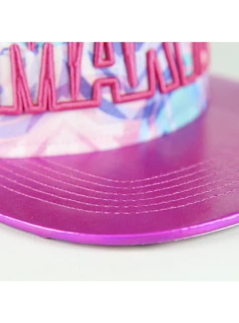 Gorra Marvel rosa para mujer - para verdaderos fans