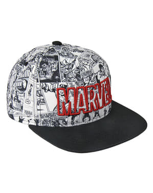 Marvel comic cap for adults