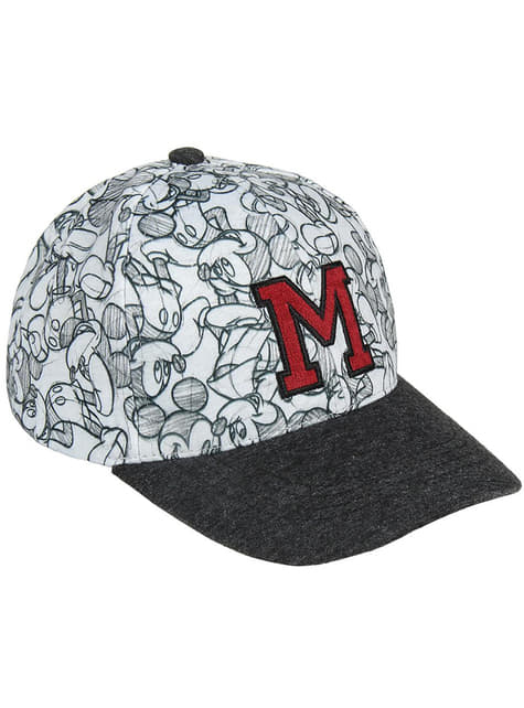 Casquette Mickey Mouse initiales enfant - Disney