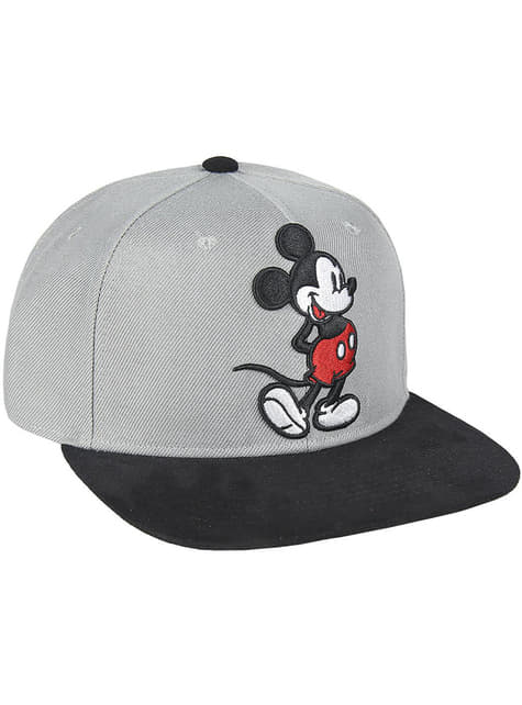 Mickey Mouse cap with grey visor for kids - Disney