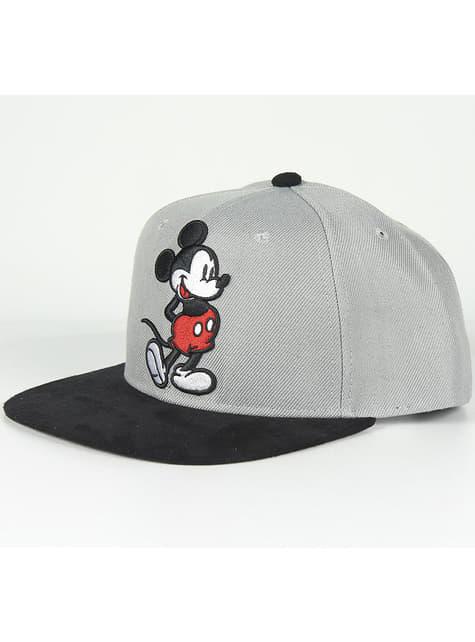 Gorra de Mickey Mouse con visera gris infantil - Disney - barato