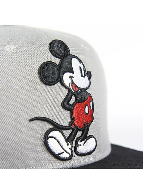 Gorra de Mickey Mouse con visera gris infantil - Disney - comprar