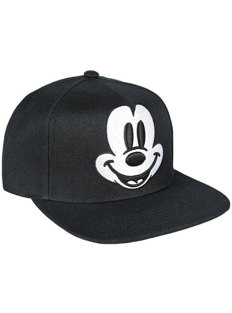 Gorra de Mickey Mouse con visera negra infantil - Disney