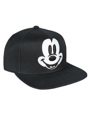 Micky Maus Kappe schwarz mit Visier für Kinder - Disney