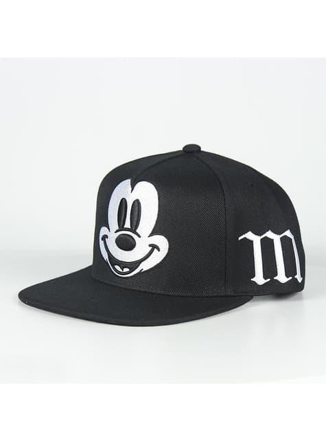 Gorra de Mickey Mouse con visera negra infantil - Disney - barato