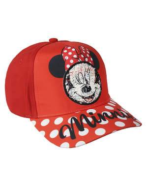 Minnie Maus Kappe mit Pailletten für Mädchen - Disney