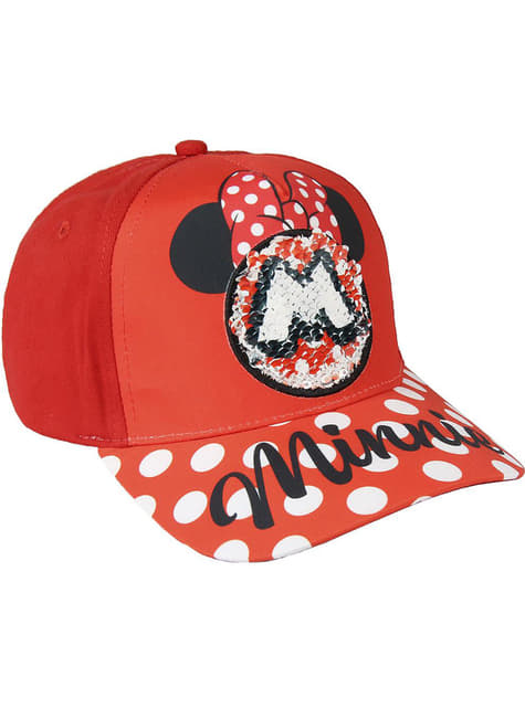 Casquette Minnie Mouse à sequins fille - Disney