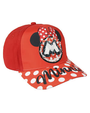 Minnie Mouse cap with sequins for girls - Disney