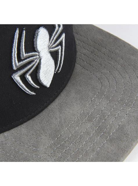 Gorra Spiderman araña gris para hombre - Marvel - el más divertido