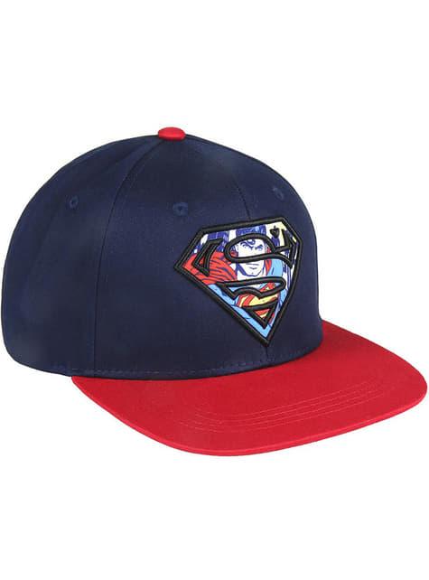 Gorra de Superman para adulto