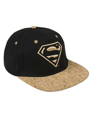 Superman cork cap for adults