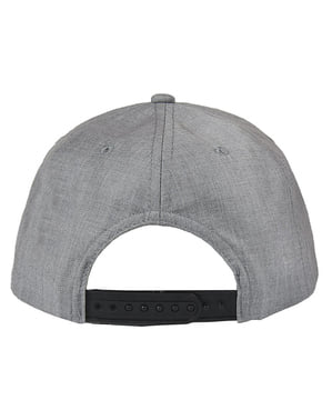 Superman cap in black and grey for adults