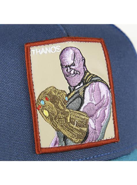 Blauwe Thanos pet voor volwassenen - The Avengers