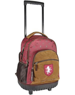 Griffendél iskolai hátizsák kerekekkel - Harry Potter