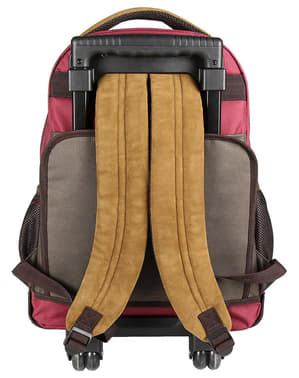 Gryffindor school backpack with wheels - Harry Potter