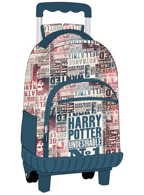 Sac à dos scolaire à roulettes Harry Potter Undesirable nº1