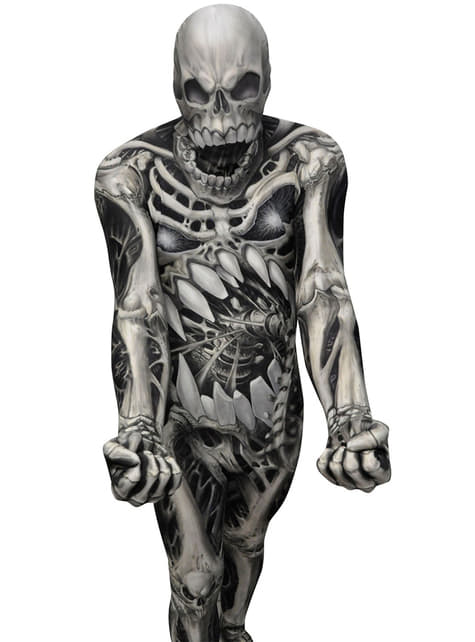 Skull and Bones Monster Collection Morphsuit Costume