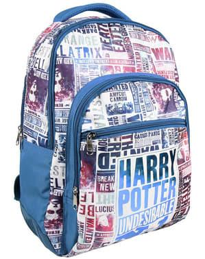 Mochila escolar Harry Potter Undesirable nº1
