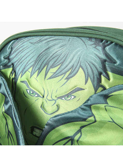 Mochila infantil de Hulk con brazos - Los Vengadores - para verdaderos fans