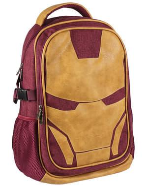 Ransel sekolah Iron Man berwarna emas - The Avengers