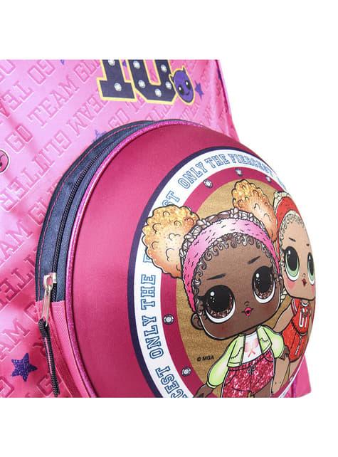 Mochila infantil LOL Surprise Glam 10 para niña - el más divertido