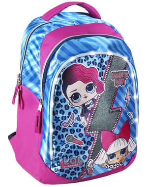 LOL Surprise Kinderrucksack blau für Mädchen