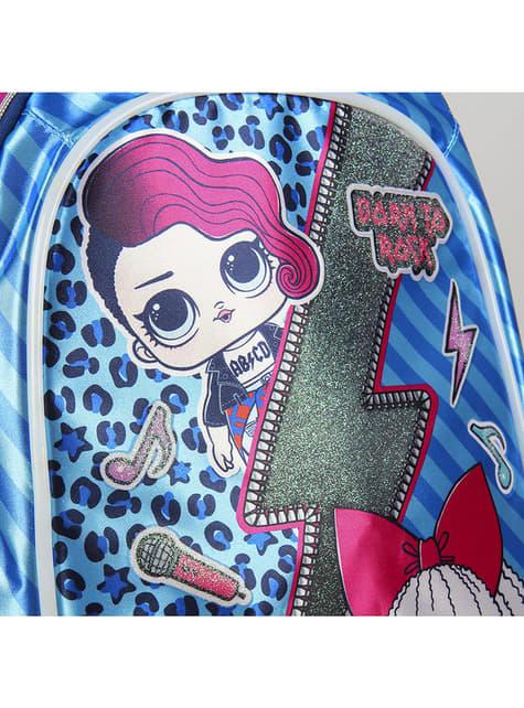 Mochila infantil LOL Surprise azul para niña - para verdaderos fans