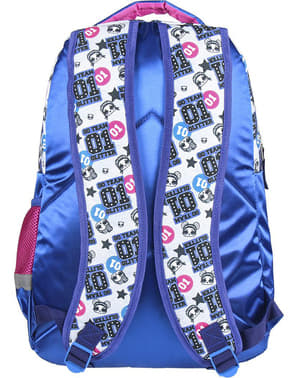 Mochila escolar LOL Surprise azul para menina
