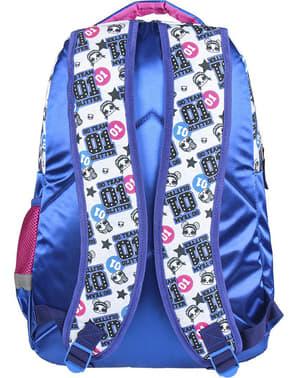 Mochila escolar LOL Surprise azul para niña