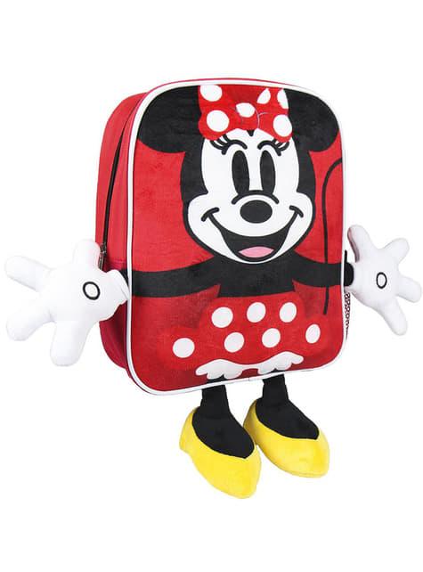 Sac à dos enfant Minnie Mouse avec mains et pieds - Disney