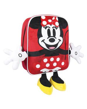 Mochila infantil de Minnie Mouse com mãos e pés - Disney
