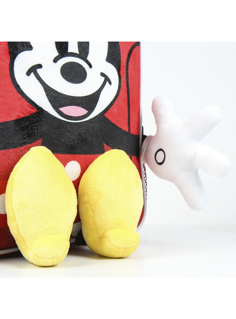 Mochila infantil de Minnie Mouse con manos y pies - Disney - para verdaderos fans