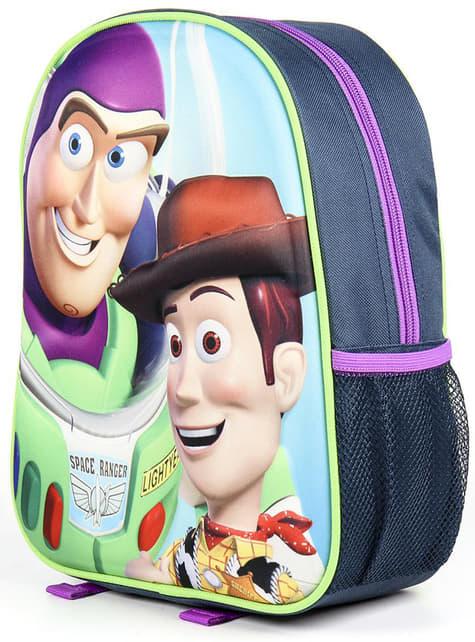 Mochila 3D infantil de Toy Story - Disney - para verdaderos fans