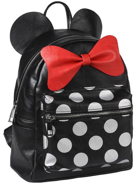 Mochila de Minnie Mouse con orejas y lazo para mujer - Disney